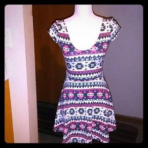 WOMENS FIT AND FLAIR DRESS
